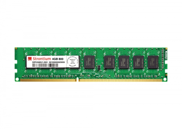 Ram Strontium DDR2 4GB bus 800MHz