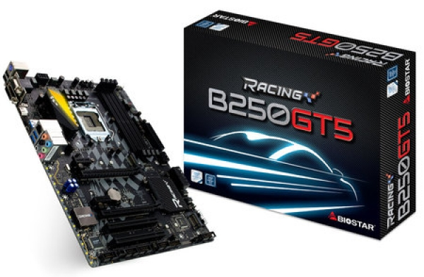 Bo Mạch chủ BIOSTAR Racing B250GT5 Cho Gaming