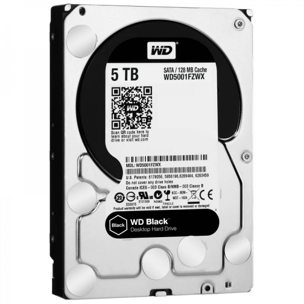 WD BLACK 5TB/3.5
