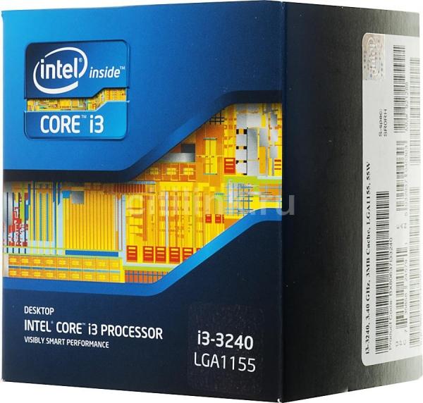 Intel Core i3-3240 (3M Cache, 3.40 GHz)