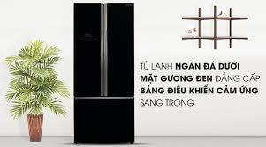 Tủ lạnh 3 cánh Hitachi R-WB545PGV2 (GBK), 455 Lít, Màu đen