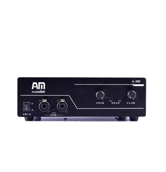 Âm ly Amplifier AM A300 dùng cho hội trường