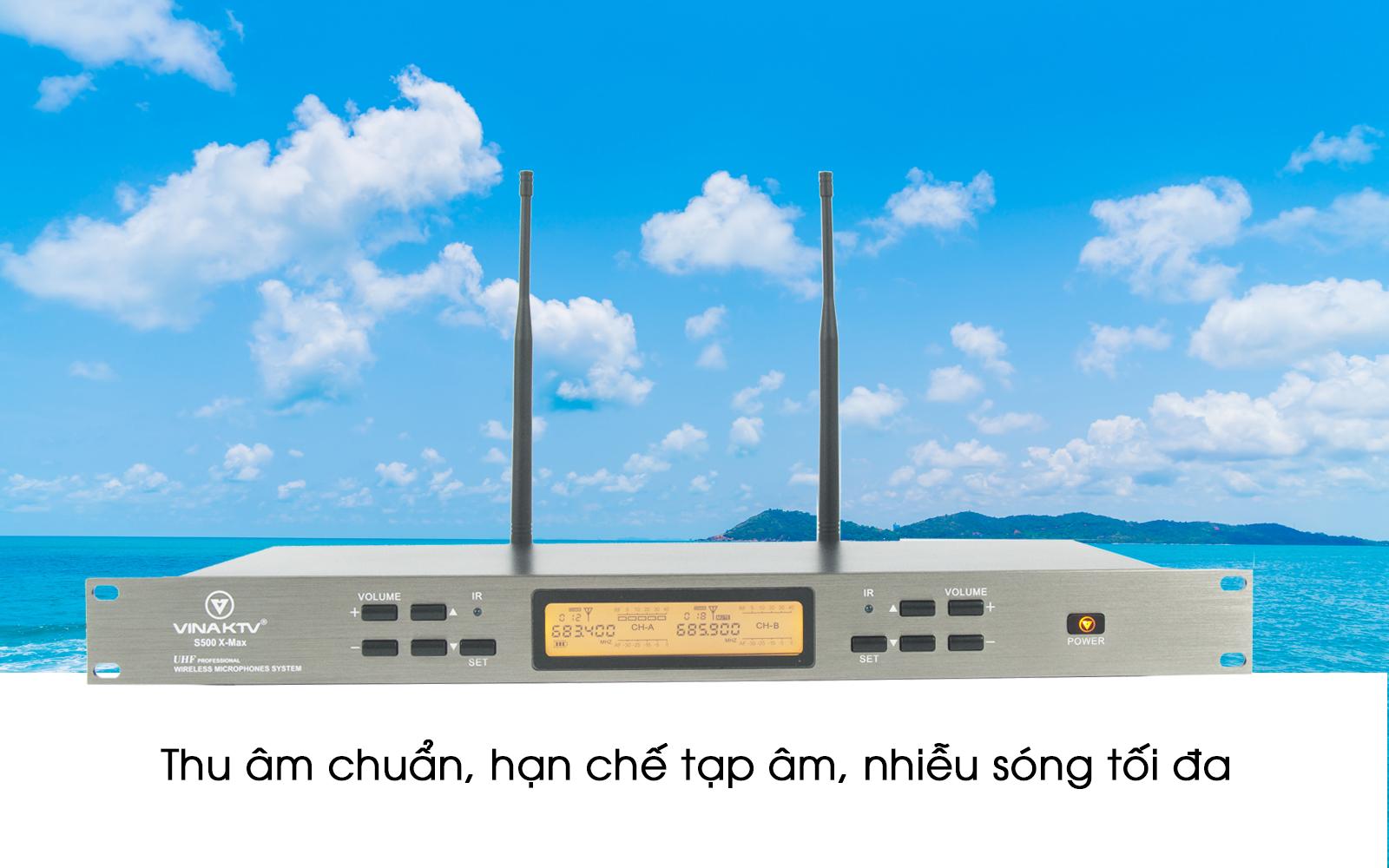 Micro không dây S500Xmax  dùng cho hội trường